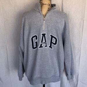 GAP Men's Half Zip Sweatshirt